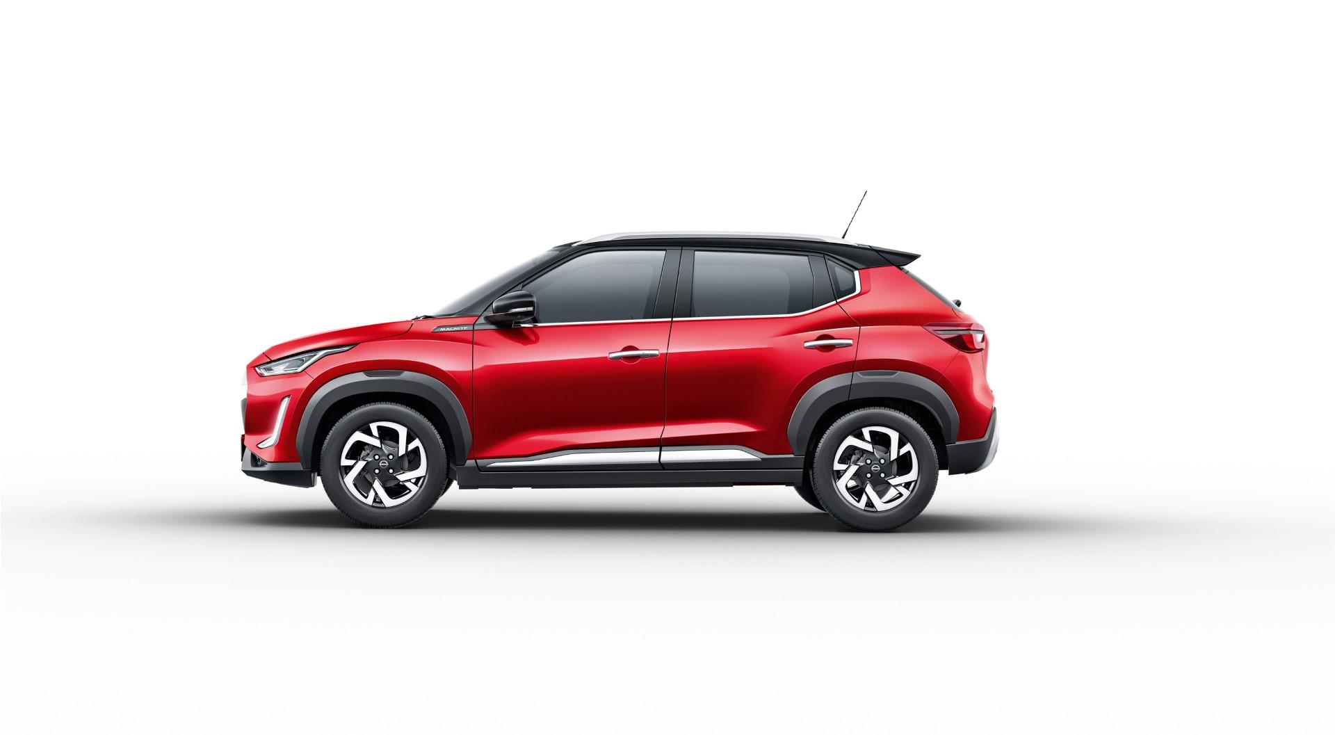 2021 Nissan Magnite side profile