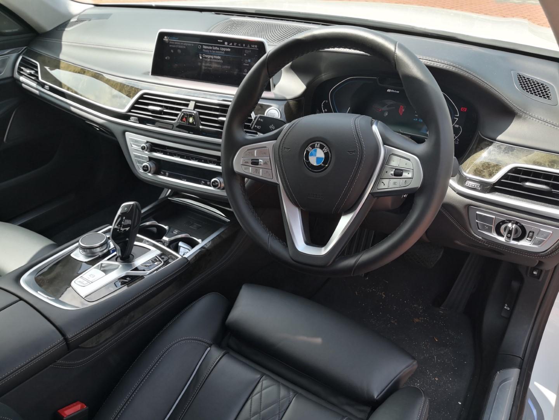 bmw 740le interior