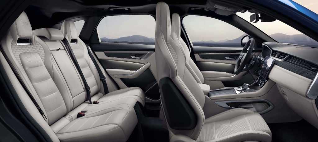 jaguar F-Pace SVR seats