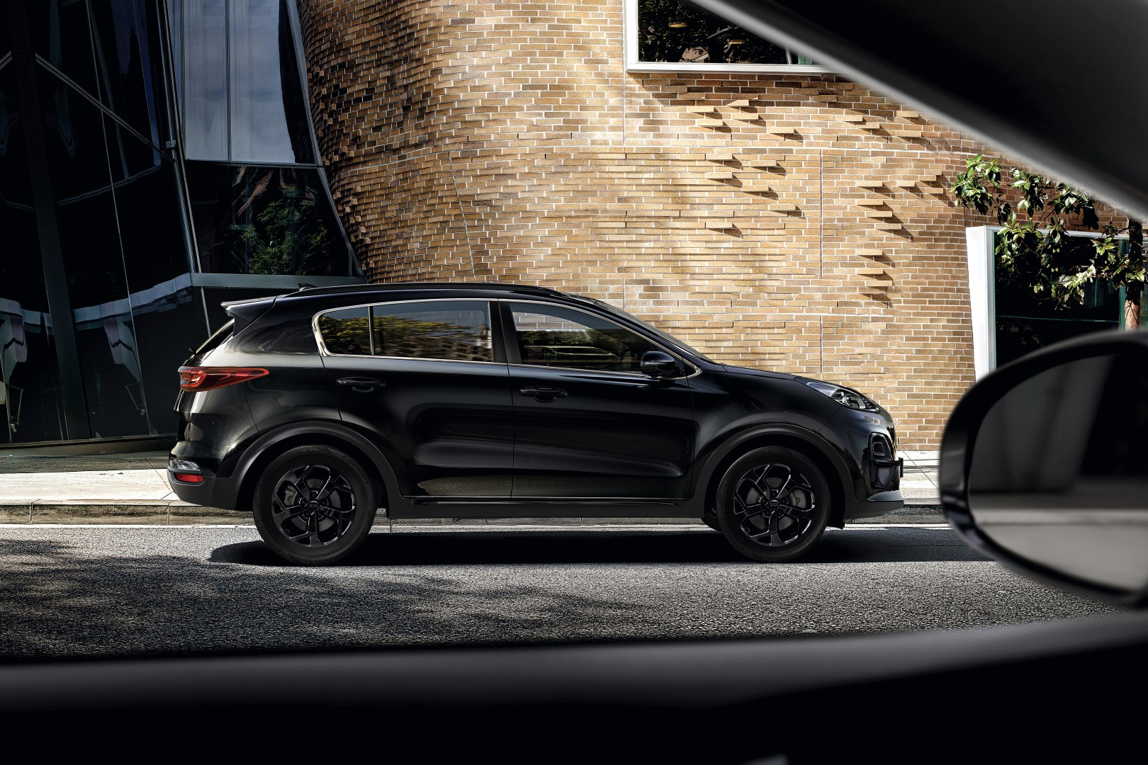 kia sportage jbl black edition
