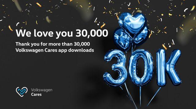 Volkswagen Cares App