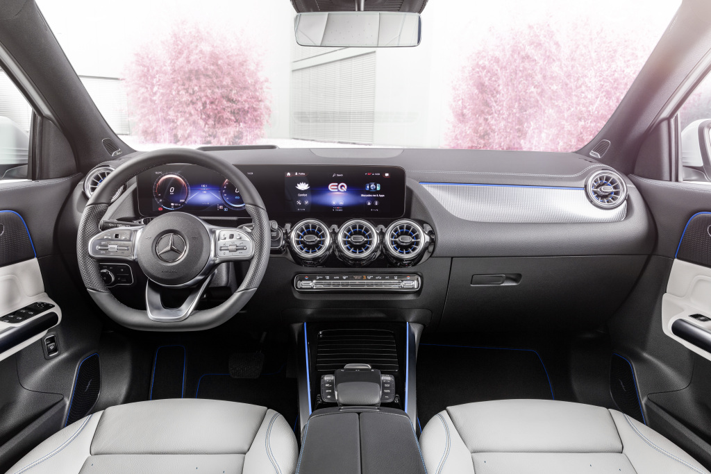 2021 mercedes-benz eqa interior