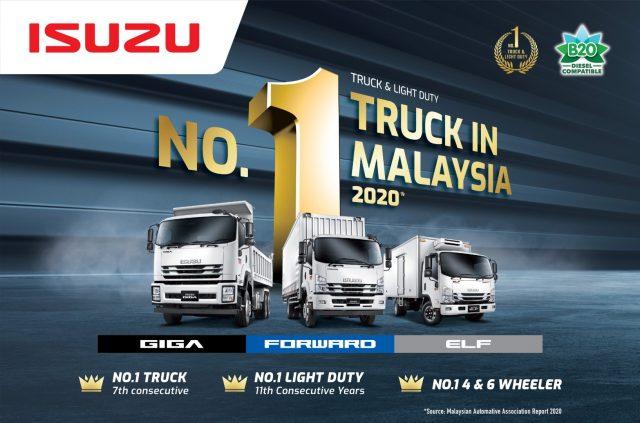 Isuzu No.1 Truck 2020