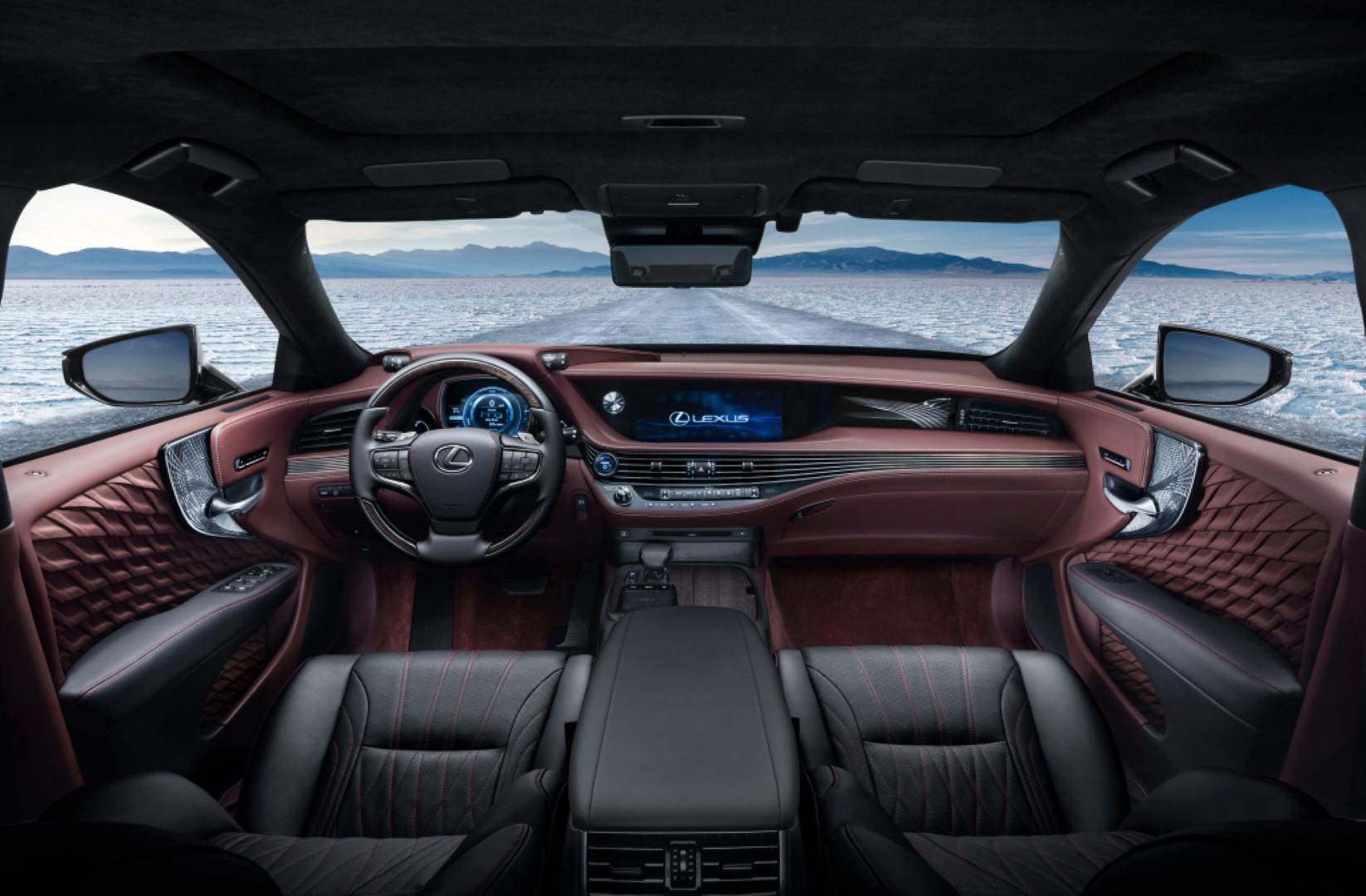2021 lexus ls500 interior
