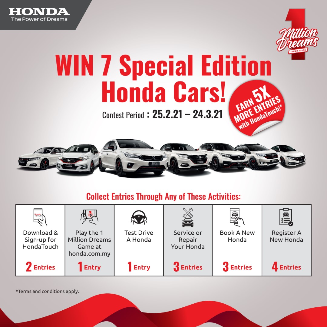 honda 1 million dreams campaign