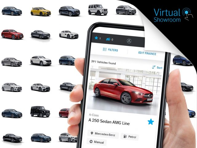 Mercedes-Benz Malaysia Virtual Showroom