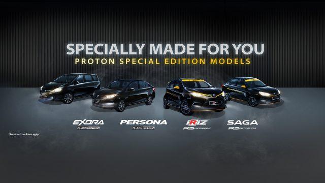 Proton Special Edition Model