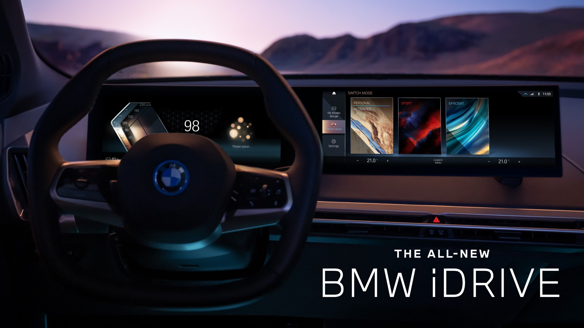 All-New BMW iDrive