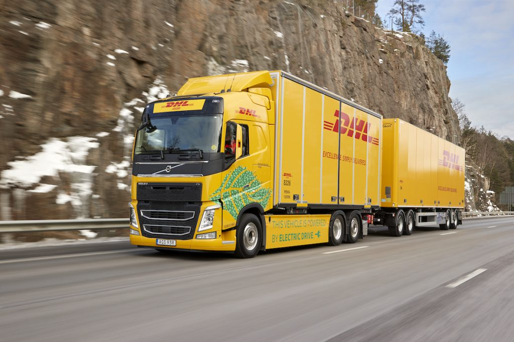 DHL electric truck