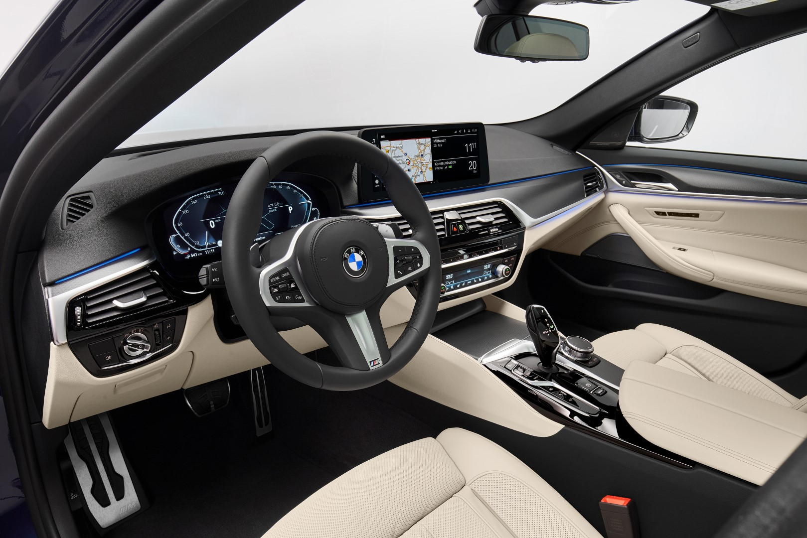 new bmw 5 series interior