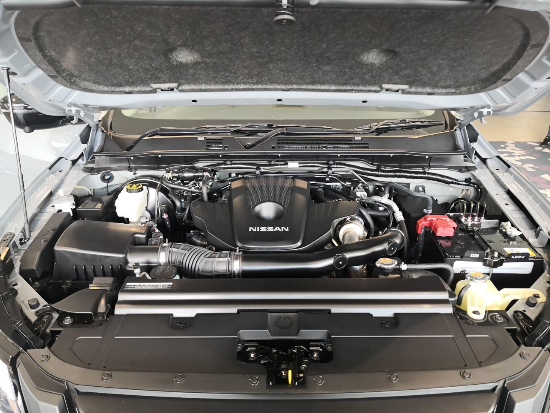 Nissan Navara Pro-4X engine