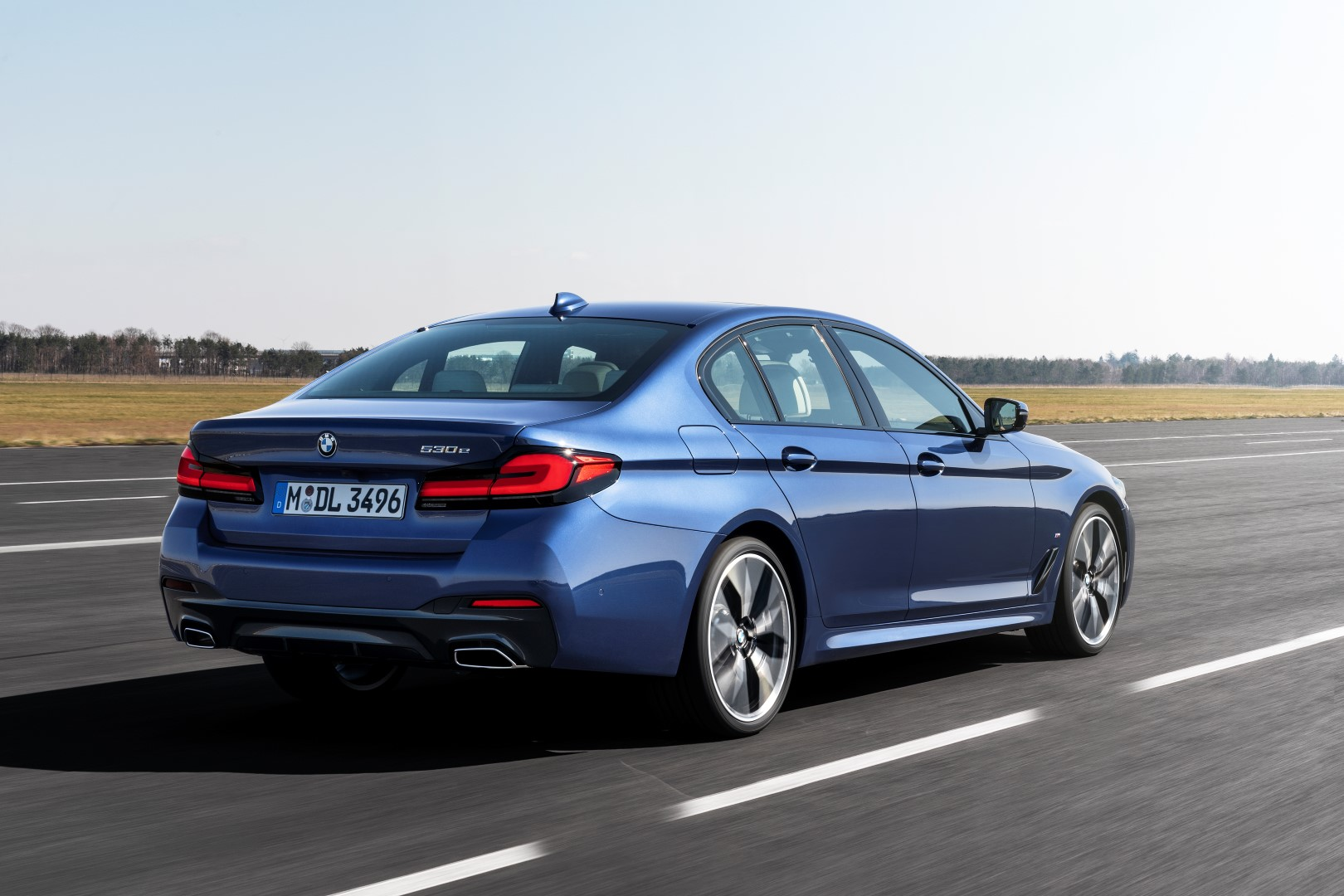 new bmw 5 series rear