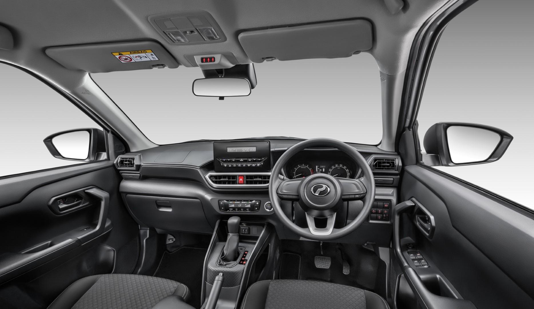 Perodua Ativa X interior