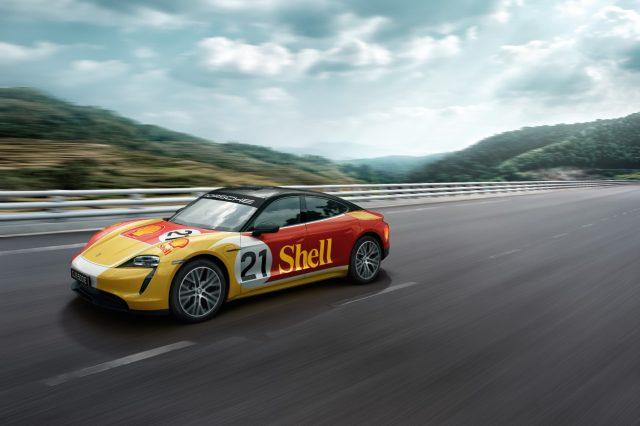 Porsche Taycan Shell
