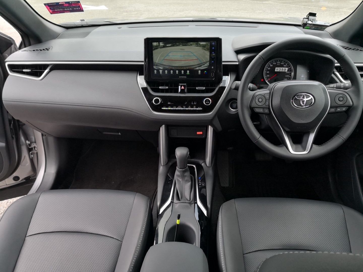 toyota corolla cross review malaysia interior