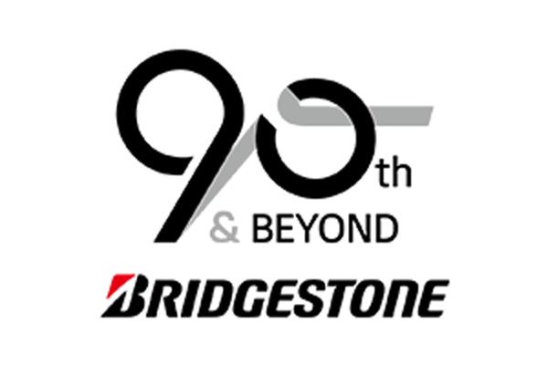 Bridgestone 90th anniversary logo