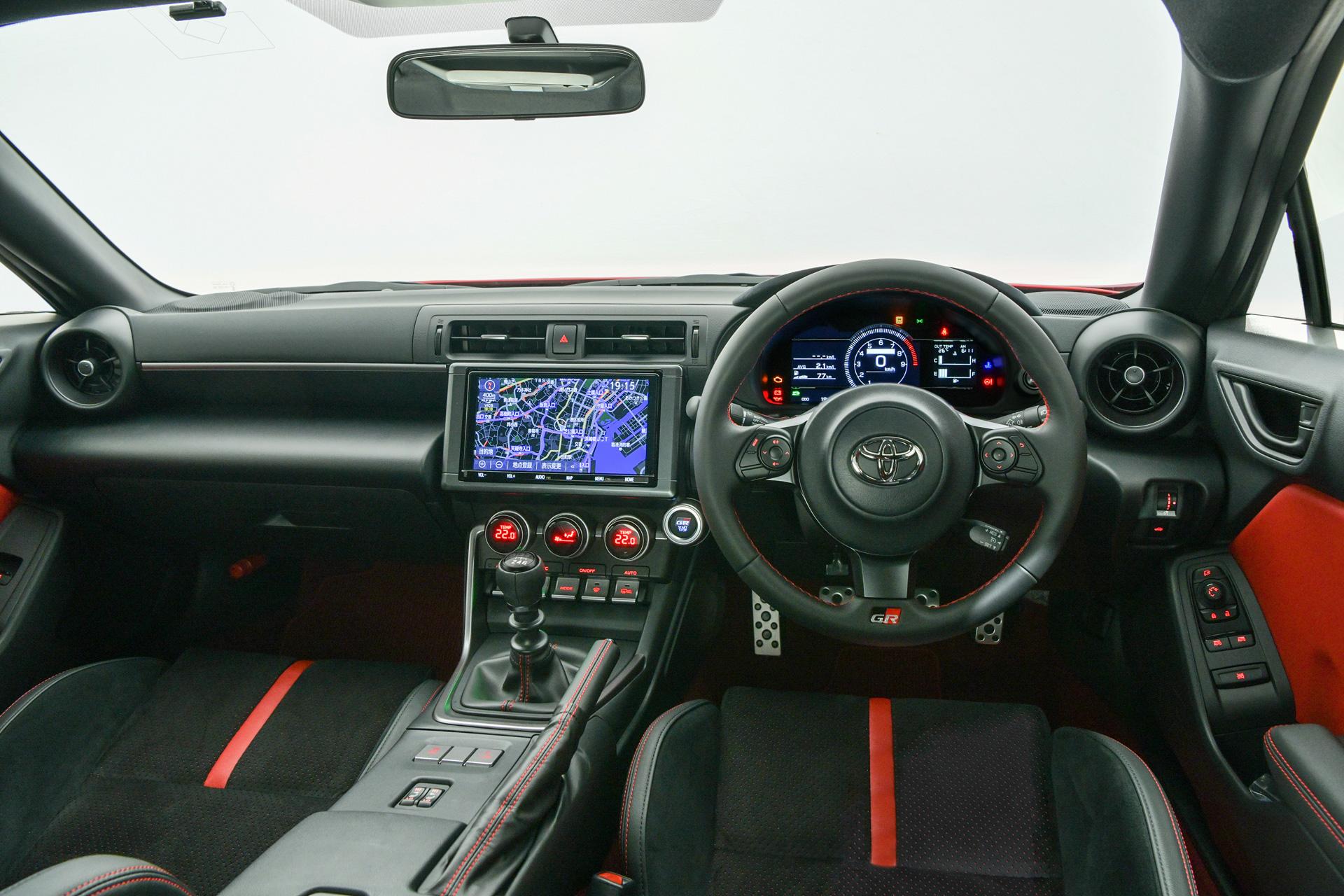 2021 Toyota GR 86 interior