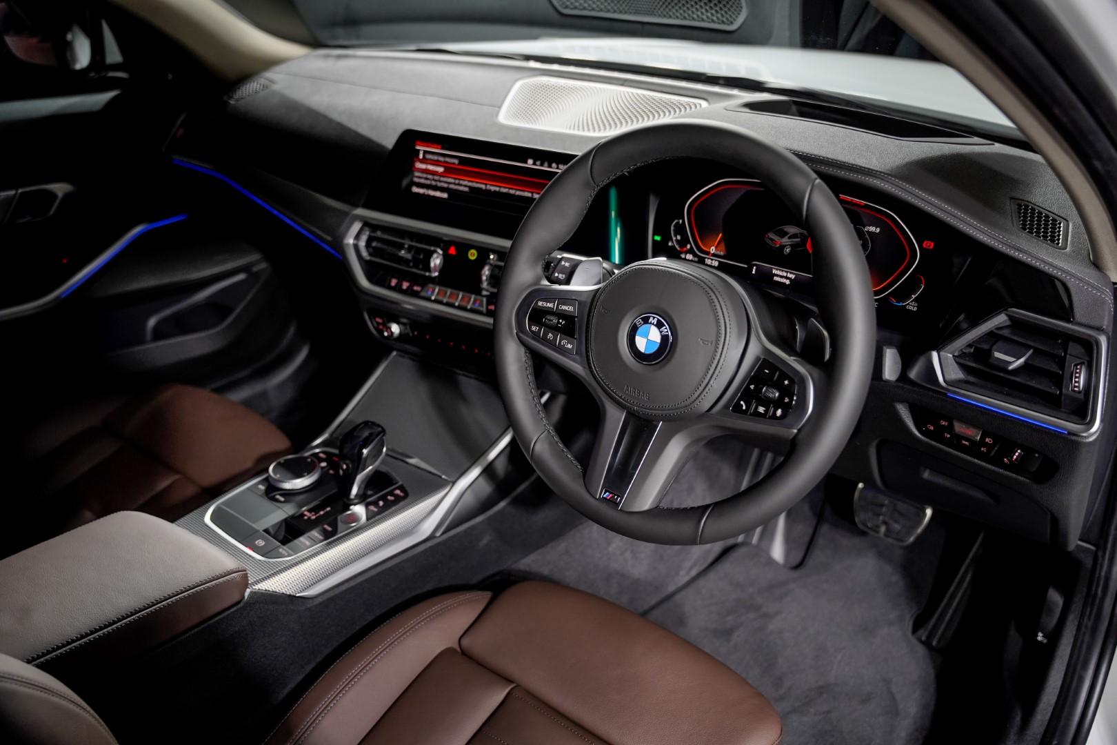 BMW 330Li M Sport interior