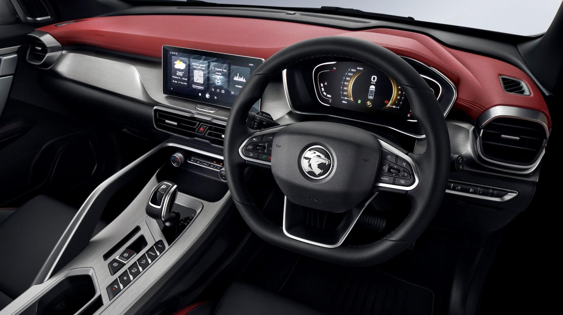 Proton X50 interior
