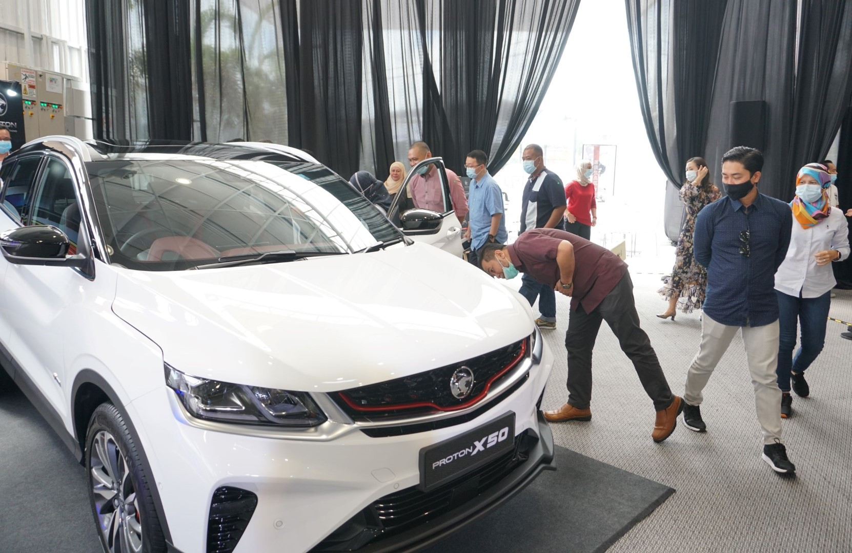 Proton X50 sales