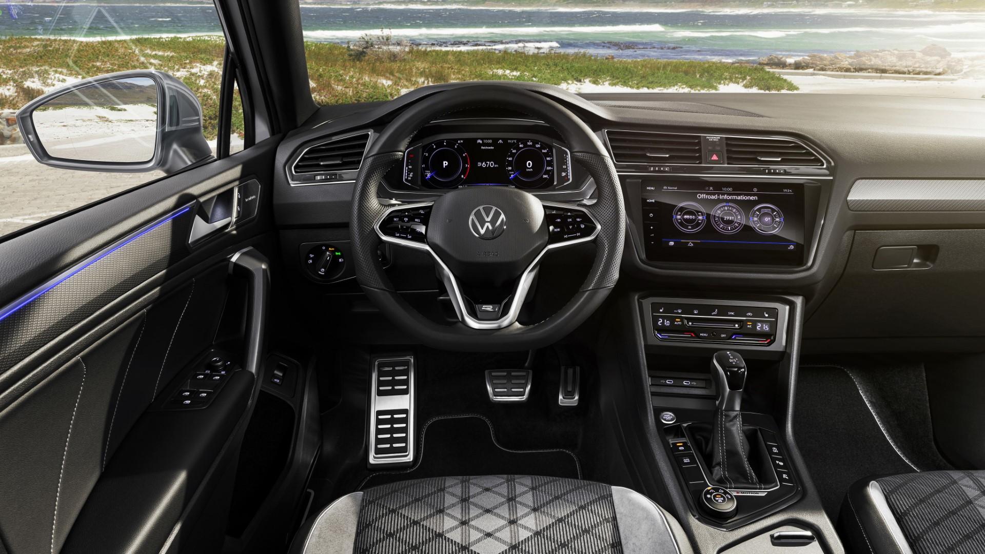2021 volkswagen tiguan allspace interior