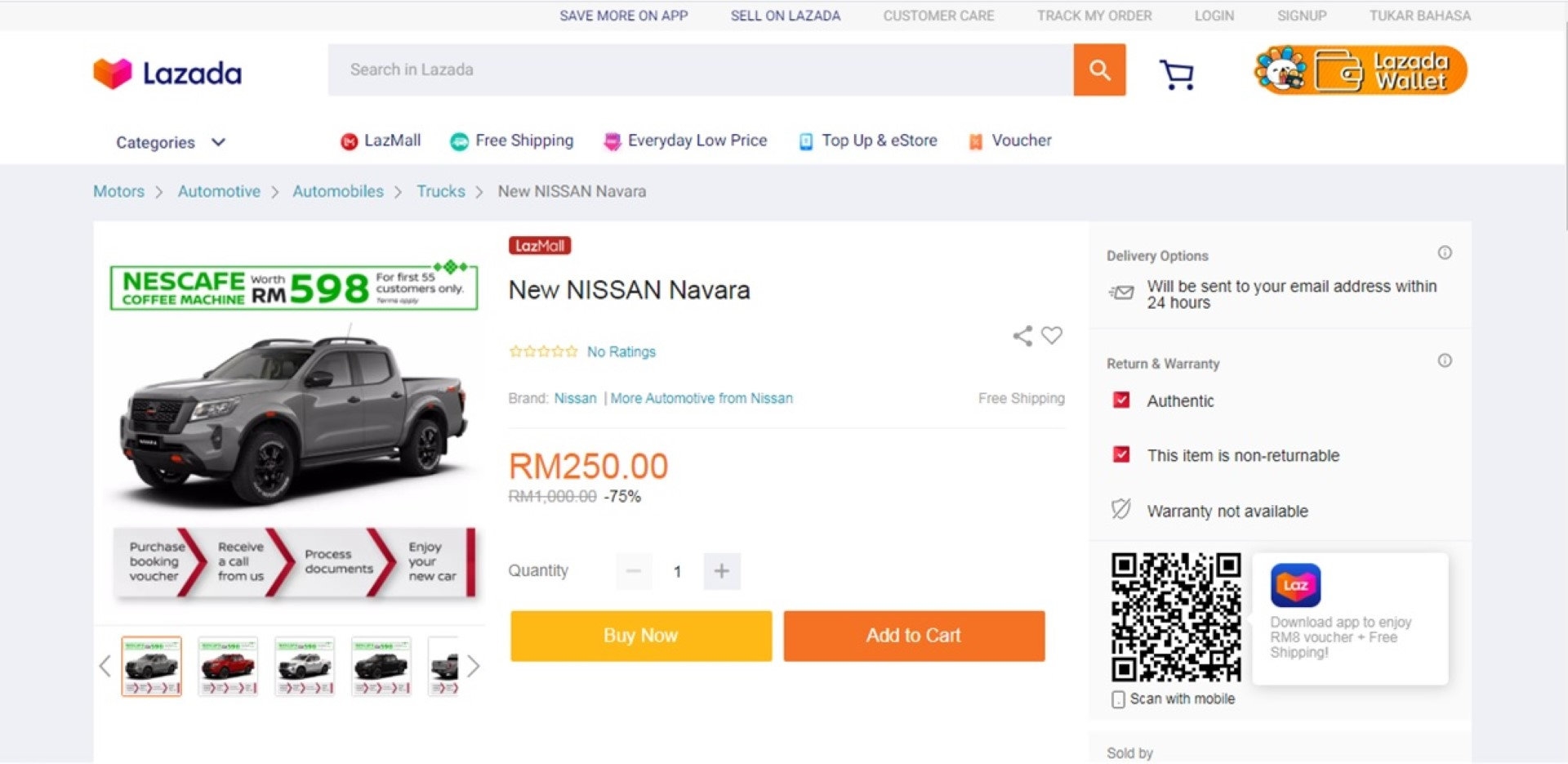 Nissan Lazada