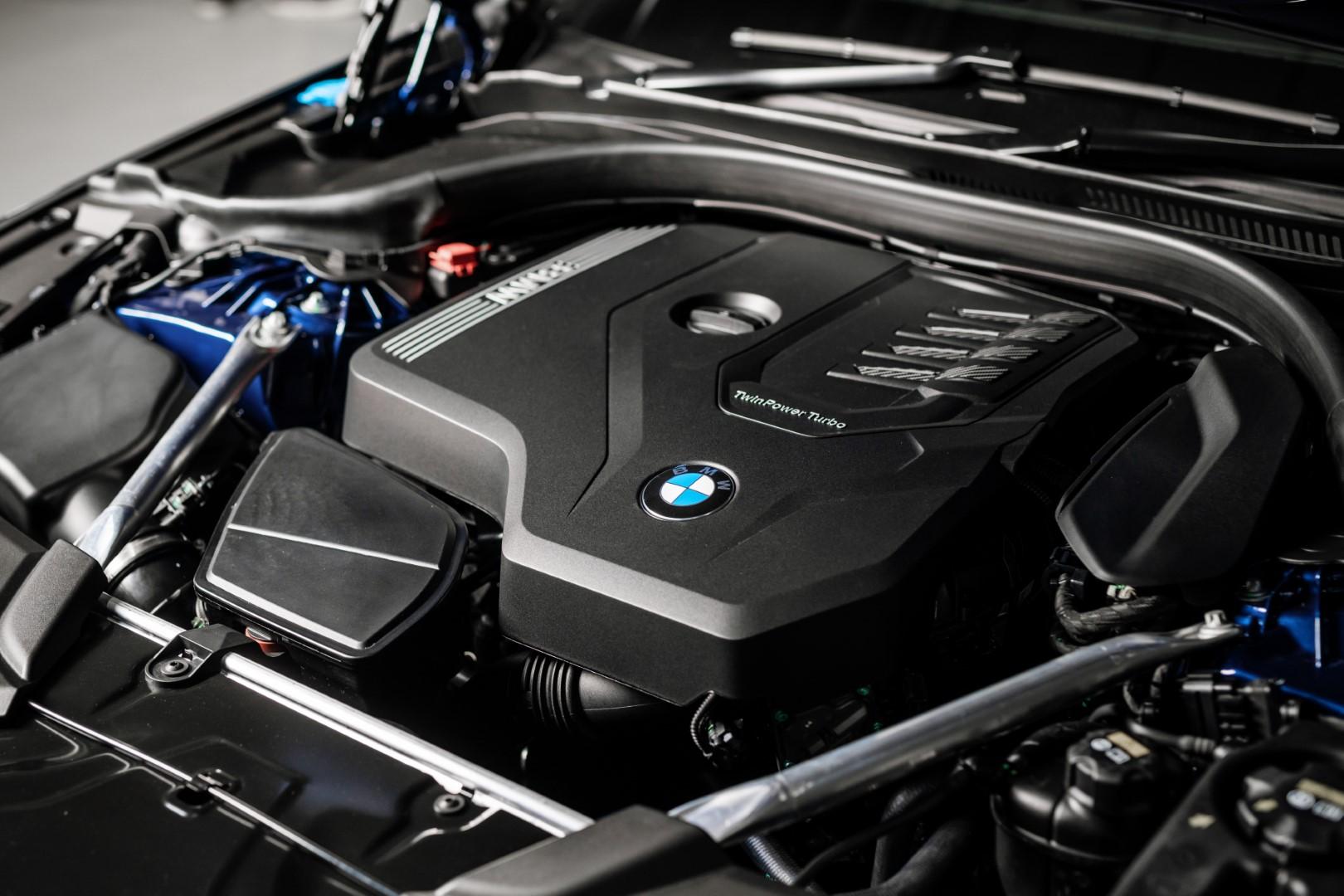 New BMW 5 Series 530e M Sport engine