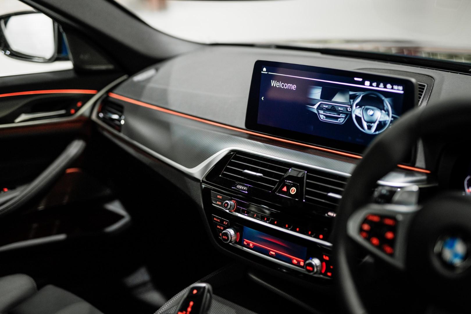 New BMW 5 Series infotainment