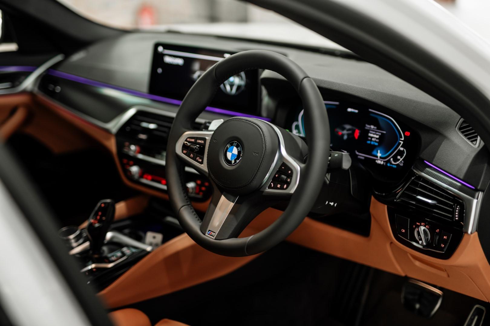 New BMW 5 Series interior