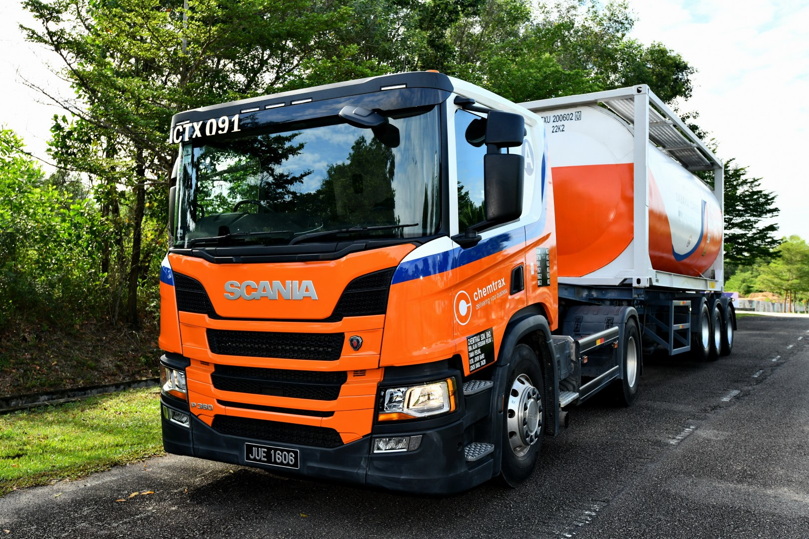 Scania Chemtrax