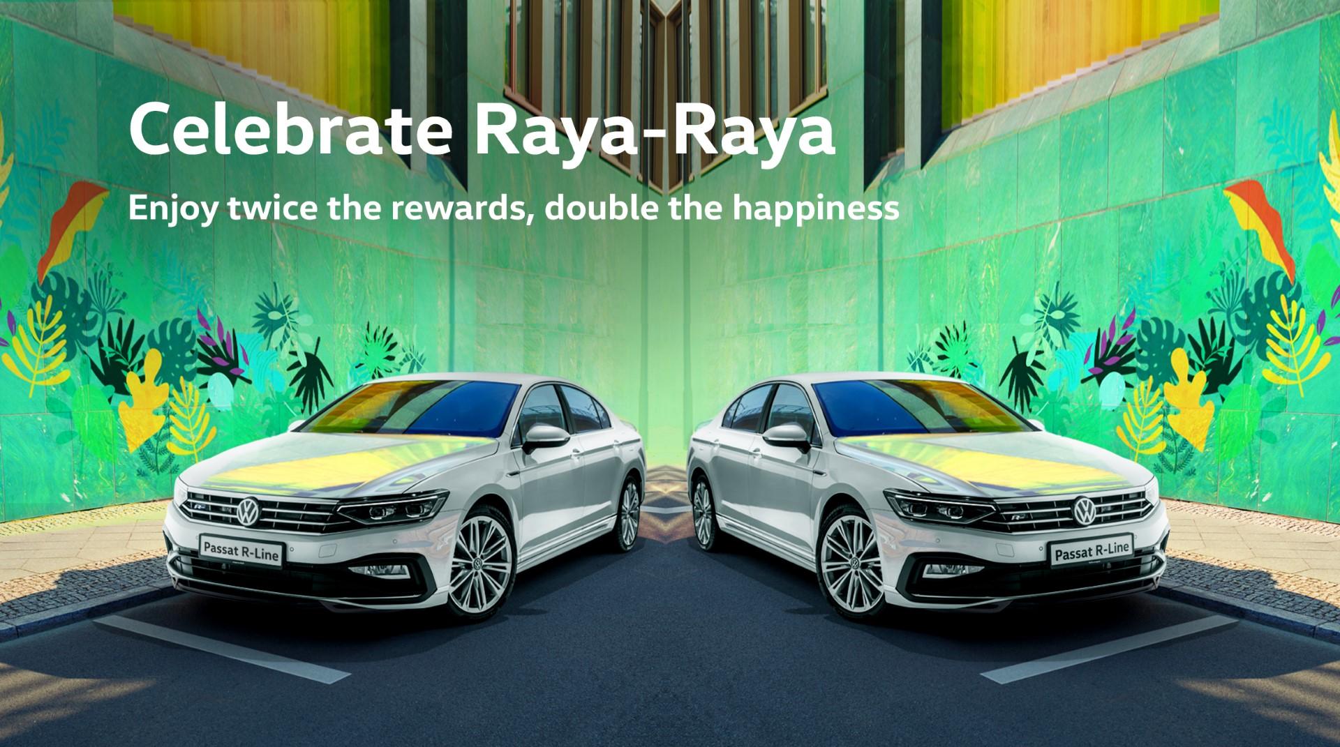 volkswagen raya raya campaign