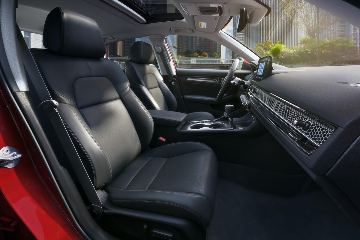 Honda Civic seats
