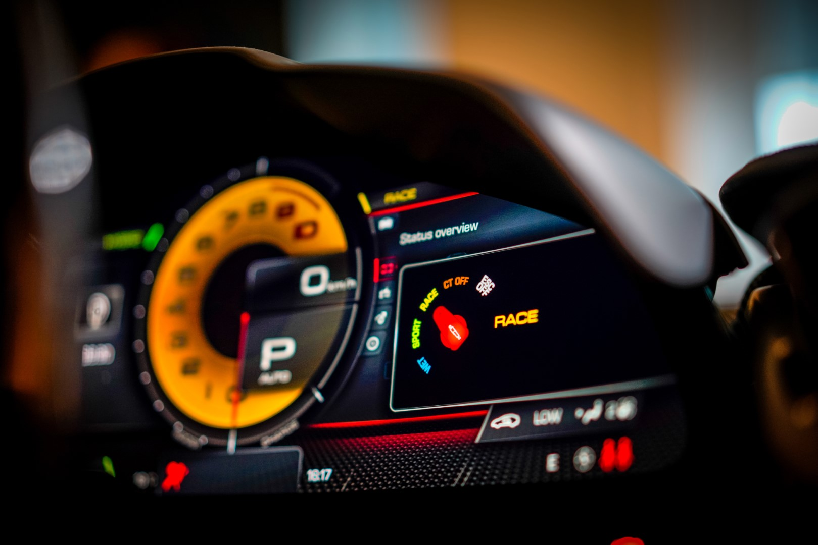 Ferrari SF90 Spider interior