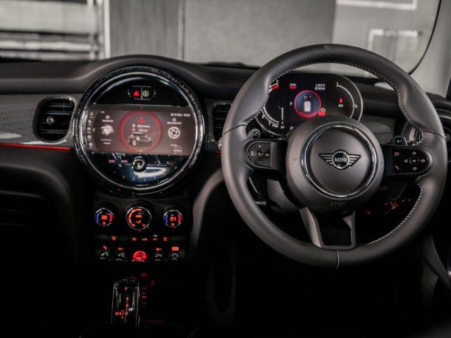 New 2021 MINI interior