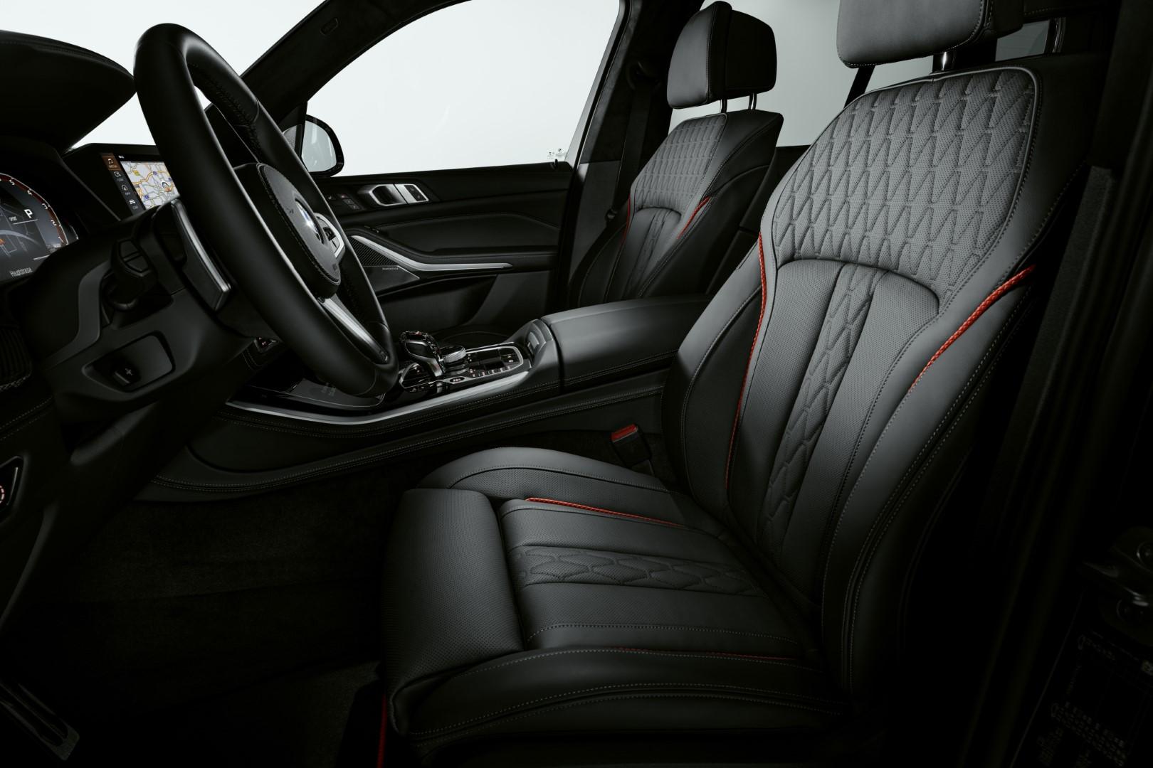 BMW X6 Black Vermilion