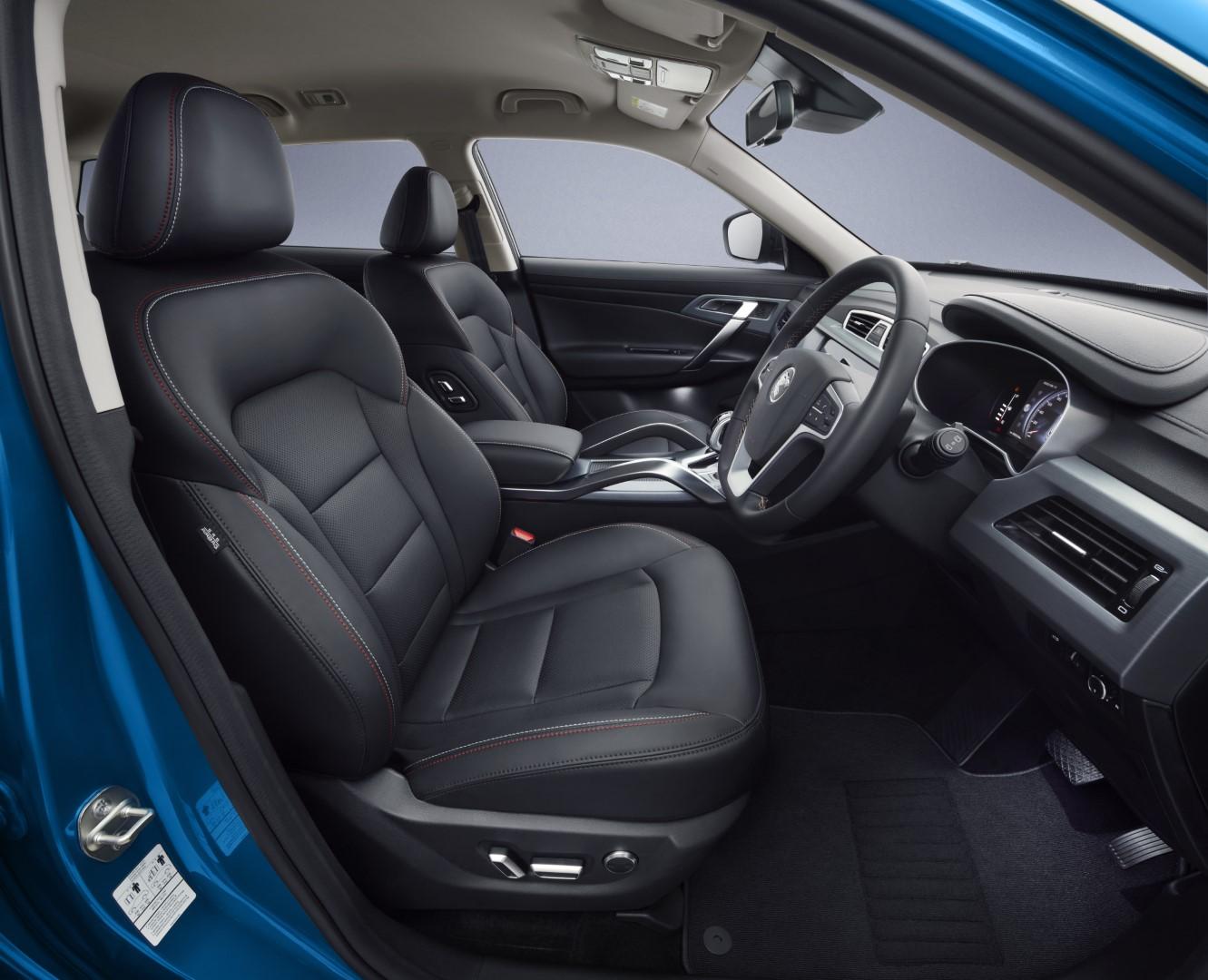 Proton X70 SE seats