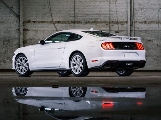 2022 Mustang Coupe Ice White Edition