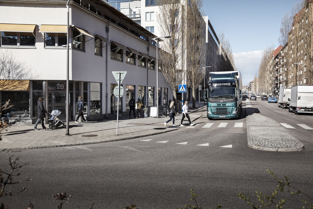 Volvo Trucks Electric Sound