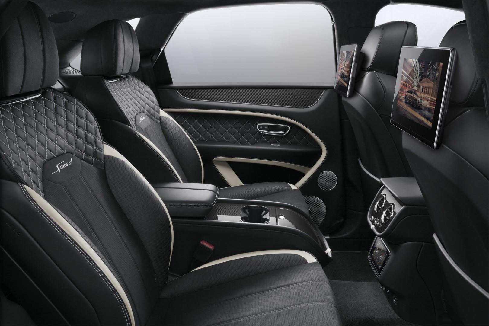 Bentley Rear Entertainment
