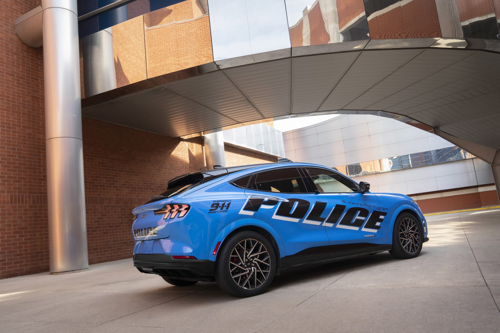 Ford Mustang Mach-E Police
