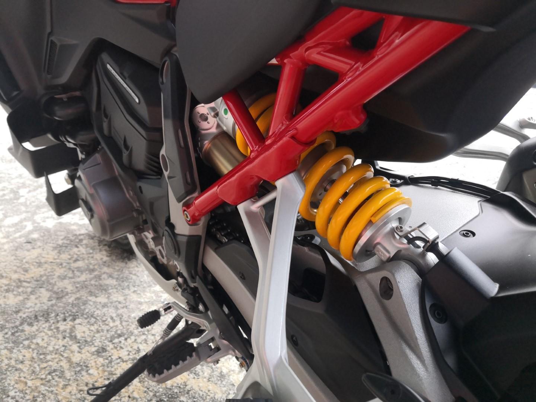 Ducati Multistrada V4S suspension