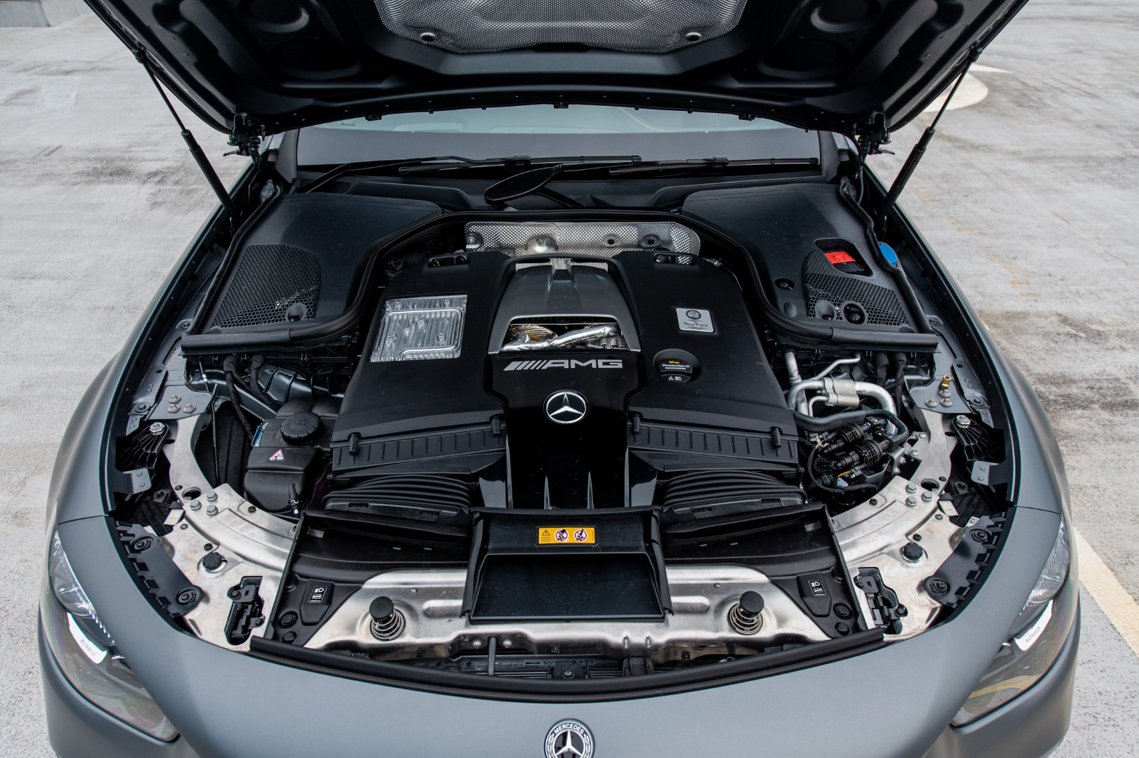 Mercedes-AMG E63 S engine
