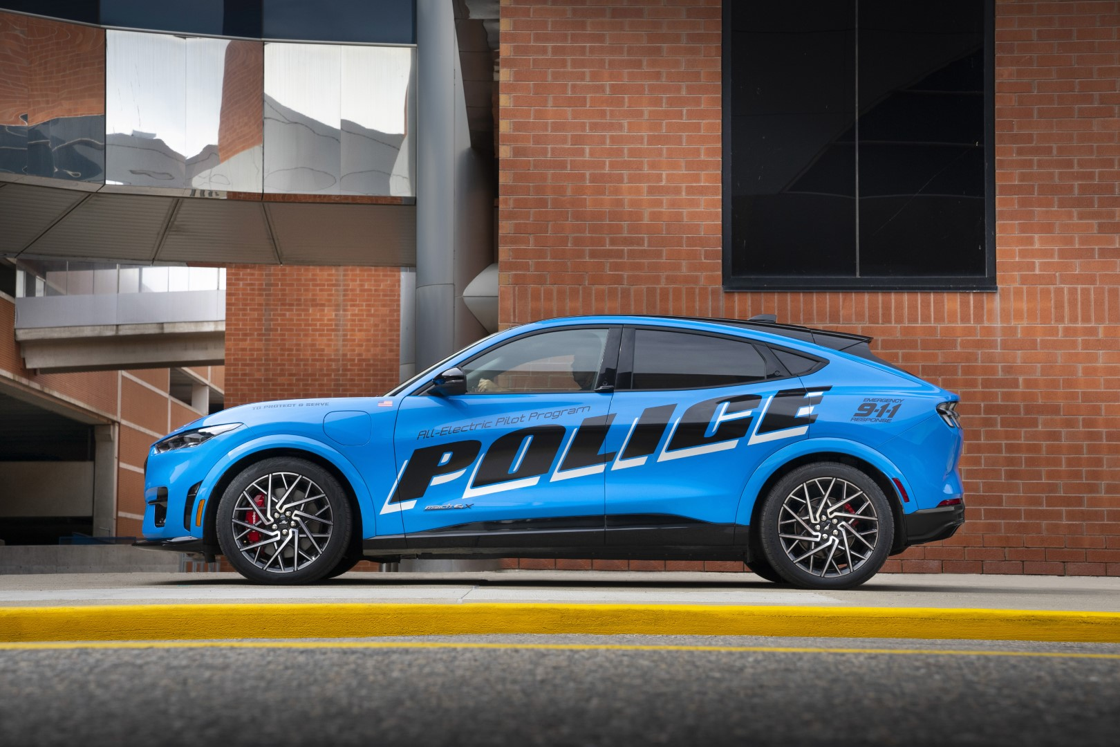 Mustang Mach-E Police