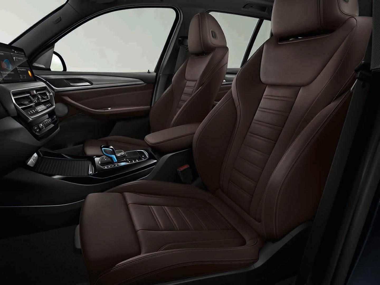 BMW iX3 seats