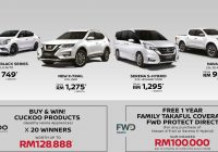 Nissan and FWD Takaful Offer Free Protection Plan for New X-Trail, Serena S-Hybrid