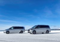 New Mercedes-Benz EQV Undergoing Extreme Winter Testing in the Arctic Circle