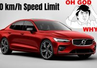New Volvos to Come with 180km/h Speed Limit