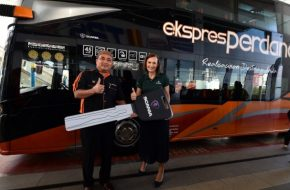 31 New Scania Buses For Perdana Express