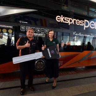 31 New Scania Buses For Perdana Express