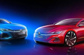 Volkswagen Teases New Arteon, Global Debut this Month